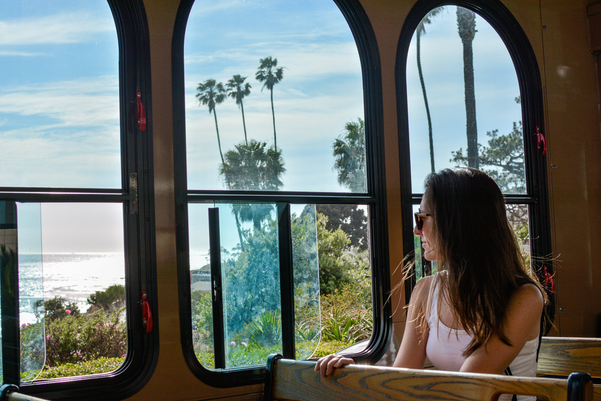 Laguna Beach trolley