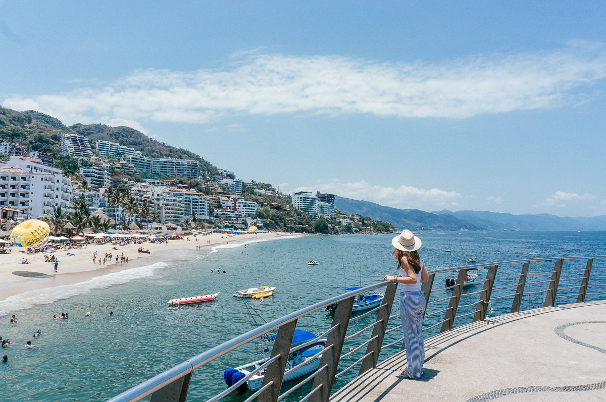 Los Muertos Beach and Pier in Puerto Vallarta