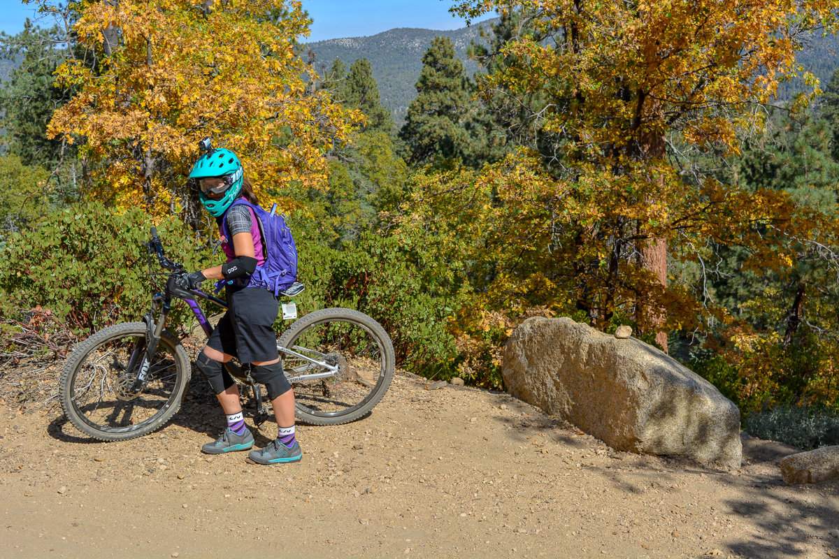 Mountain Biking in Big Bear, California