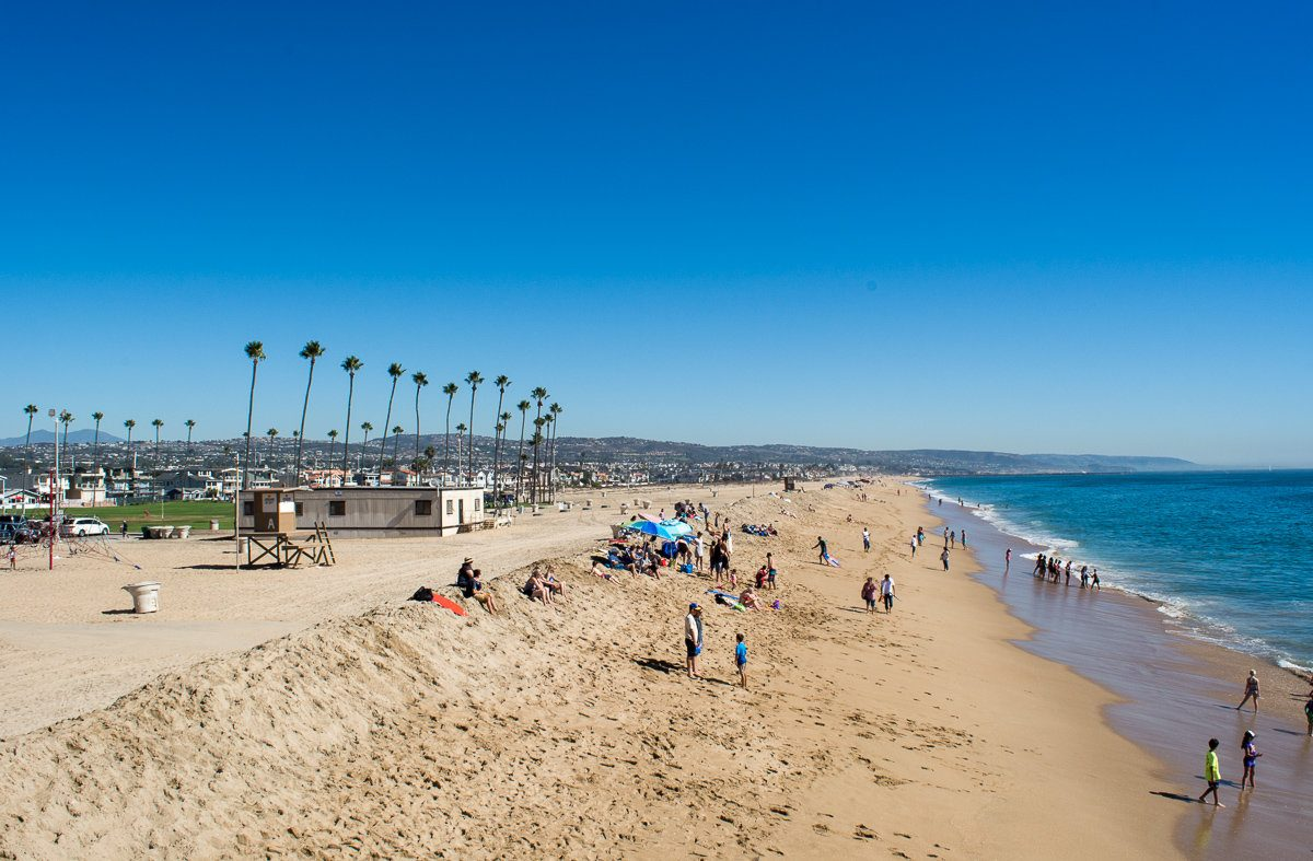 Overview of Newport Beach, California