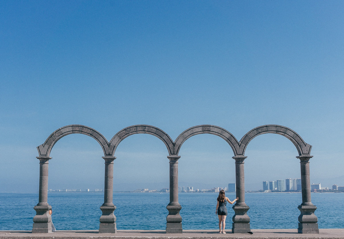 Los Arcos on the Puerto Vallarta Boardwalk