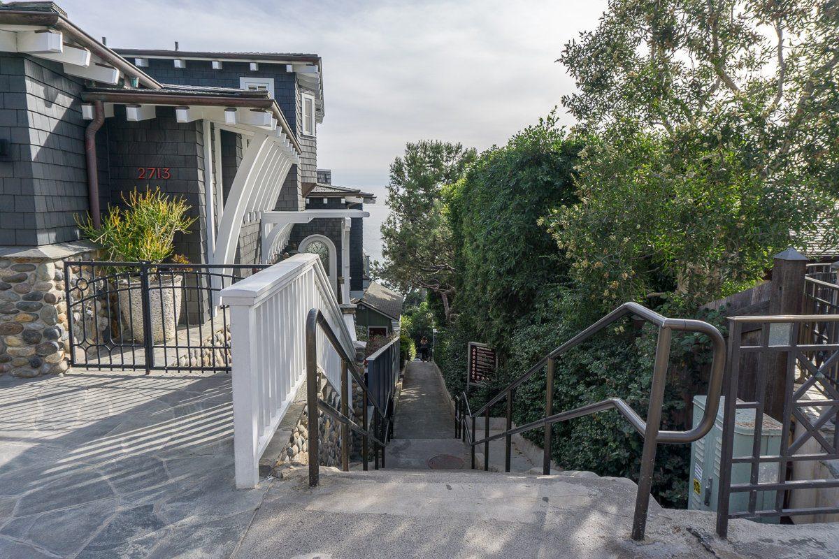 Stairway to Victoria Beach
