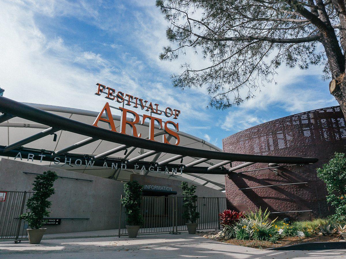 Festival of Arts in Laguna Beach, California