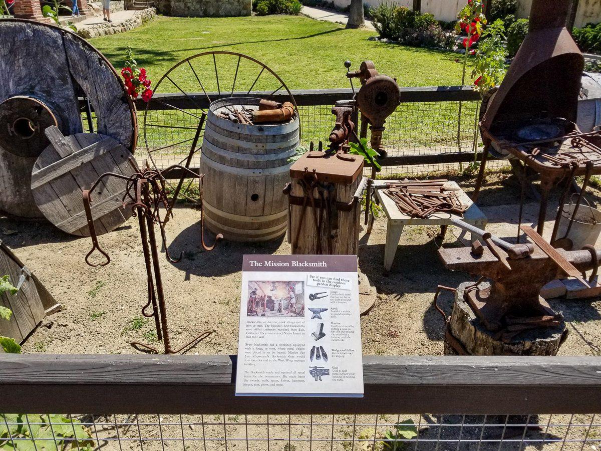 Blacksmith display