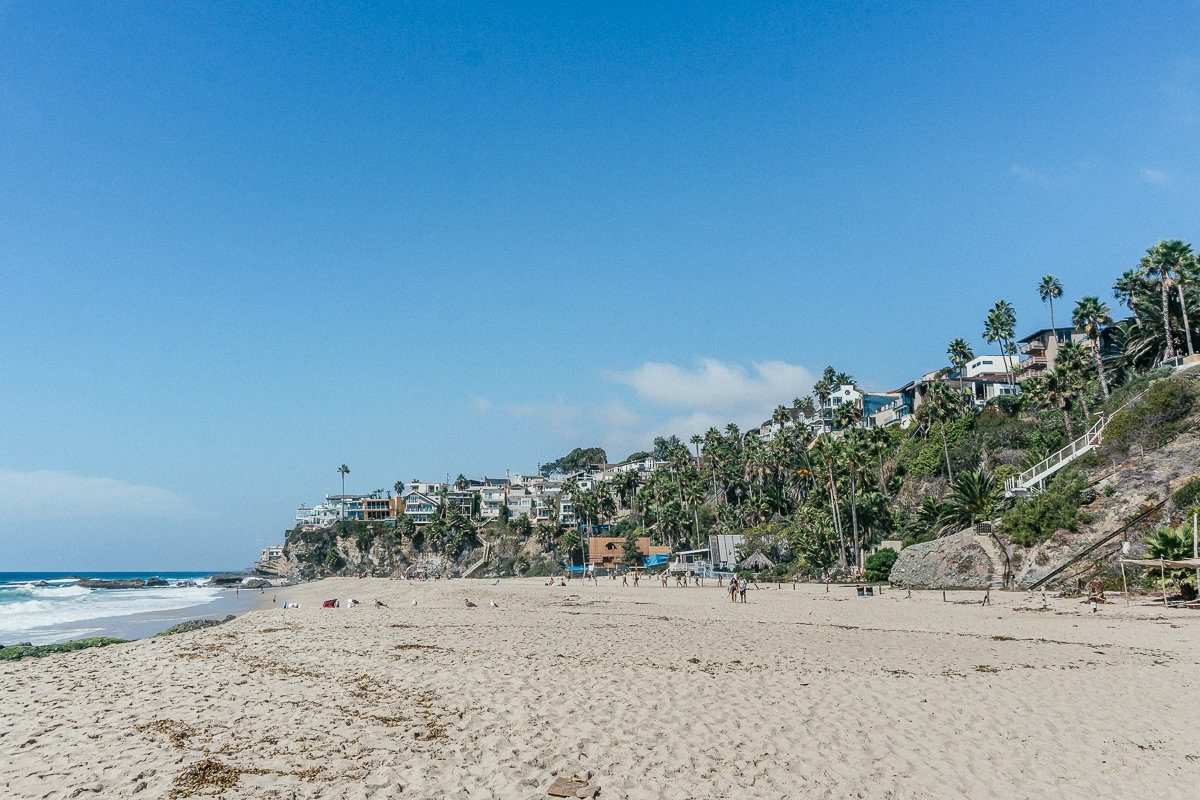 Thousand Steps Beach in Laguna Beach has a lot of space to spread out.