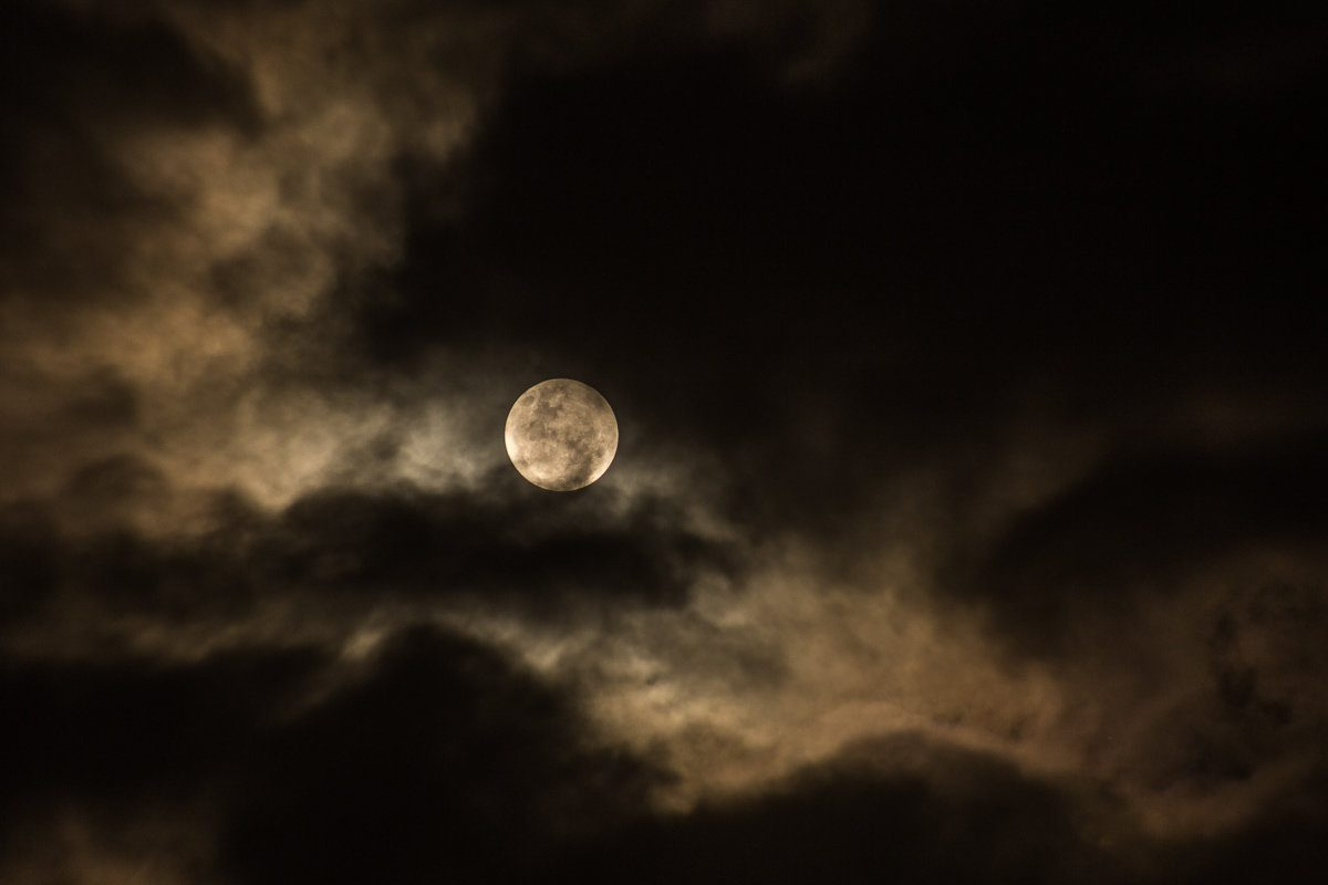 Full moon hike in Irvine, California