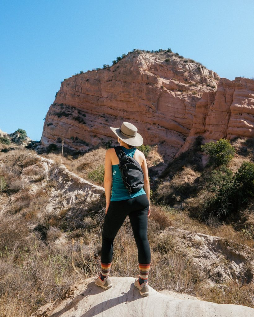 hiking red rock canyon trail