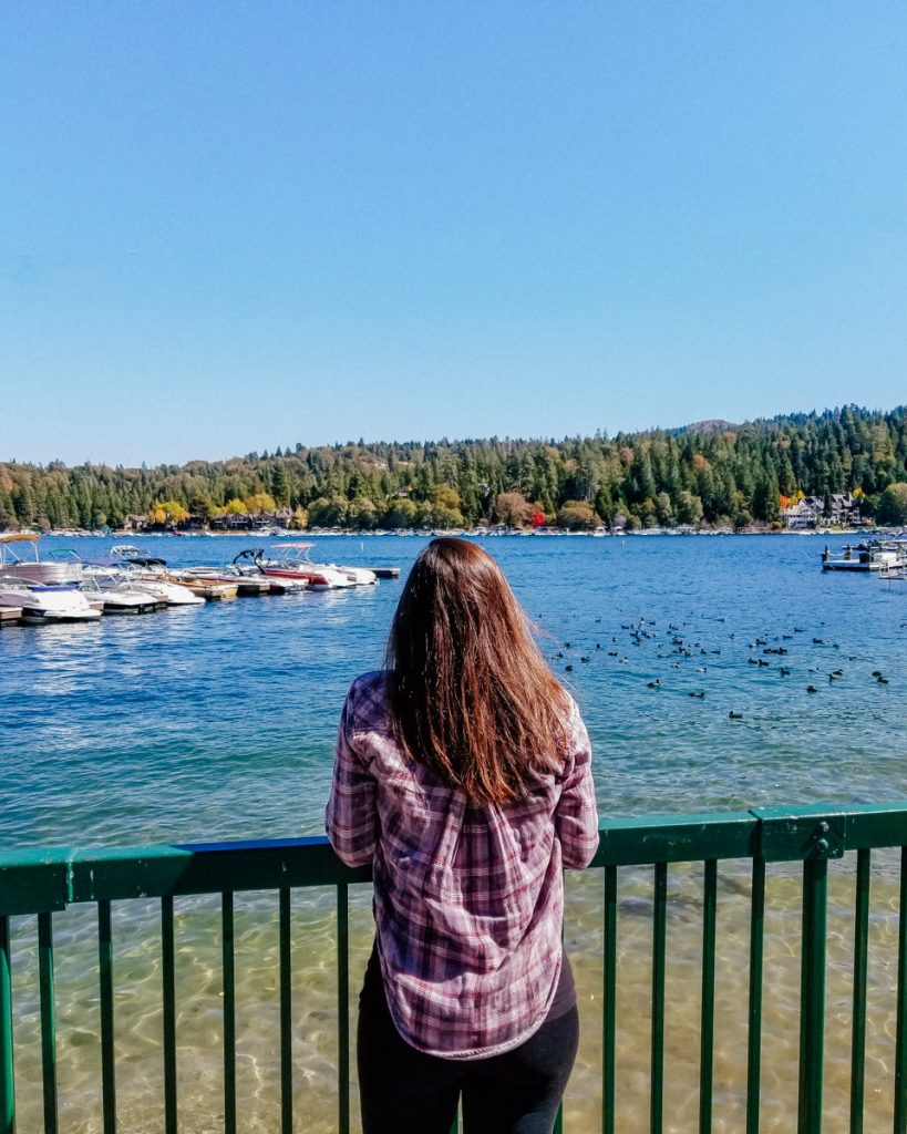 Views of Lake Arrowhead
