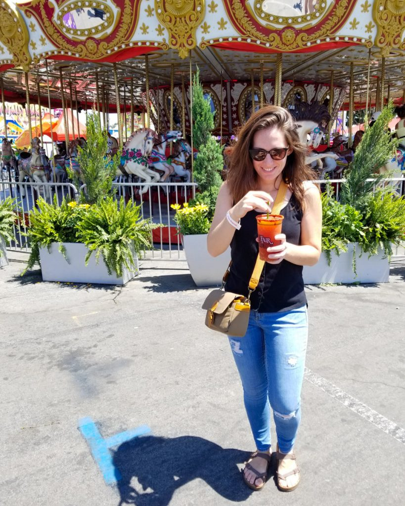 A Michelada from the Orange County Fair