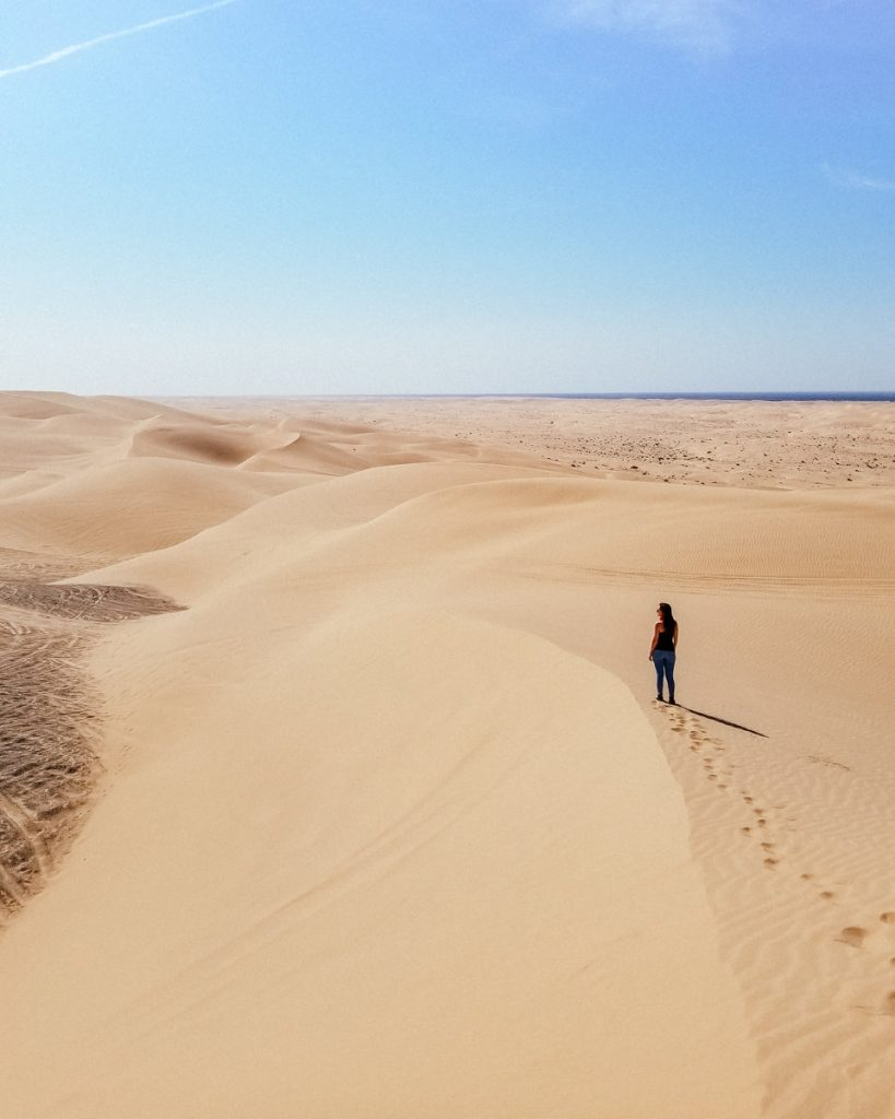The Imperial Sand Dunes