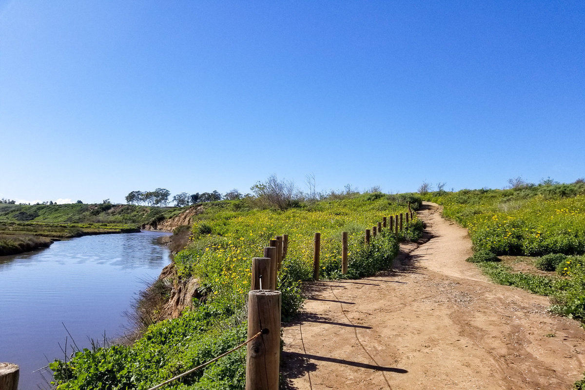 Newport Back Bay is one of the top 10 easy hikes in Orange County
