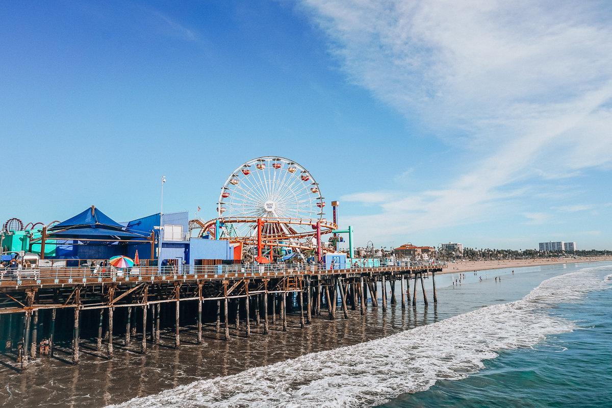 Santa Monica Pier Los Angeles, California