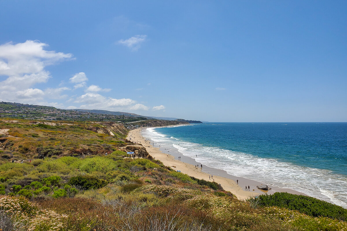 View over Crystal Cove State Park