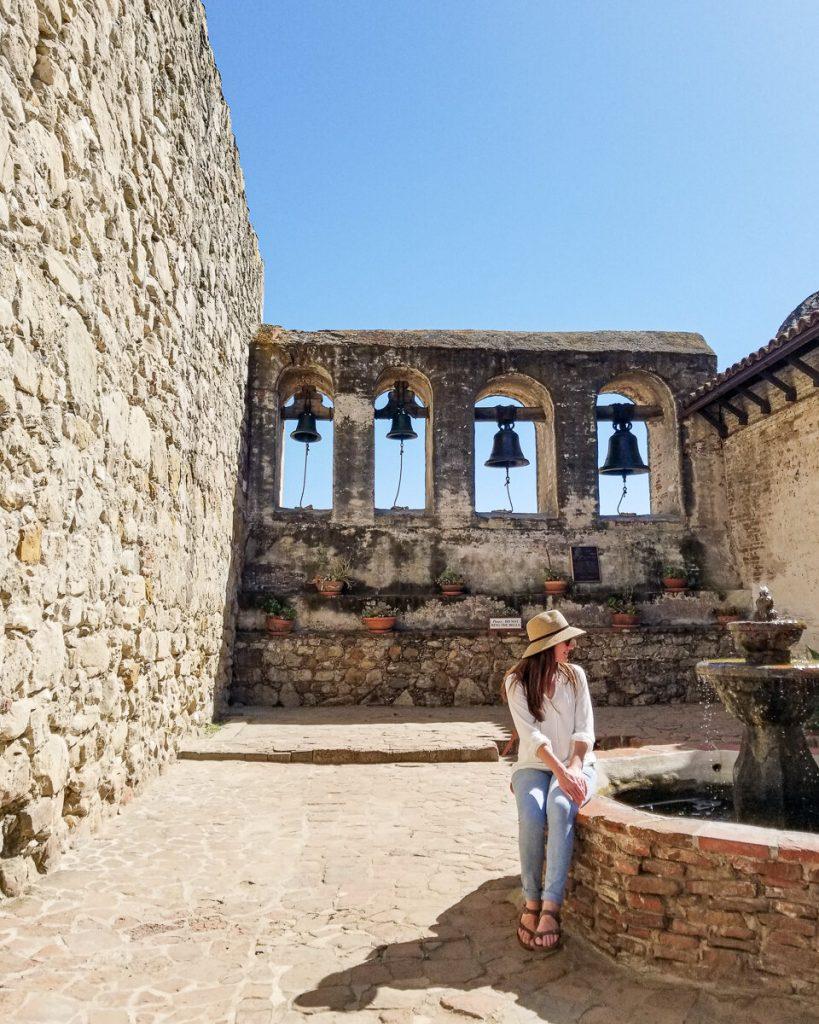 The bells at the Mission San Juan Capistrano