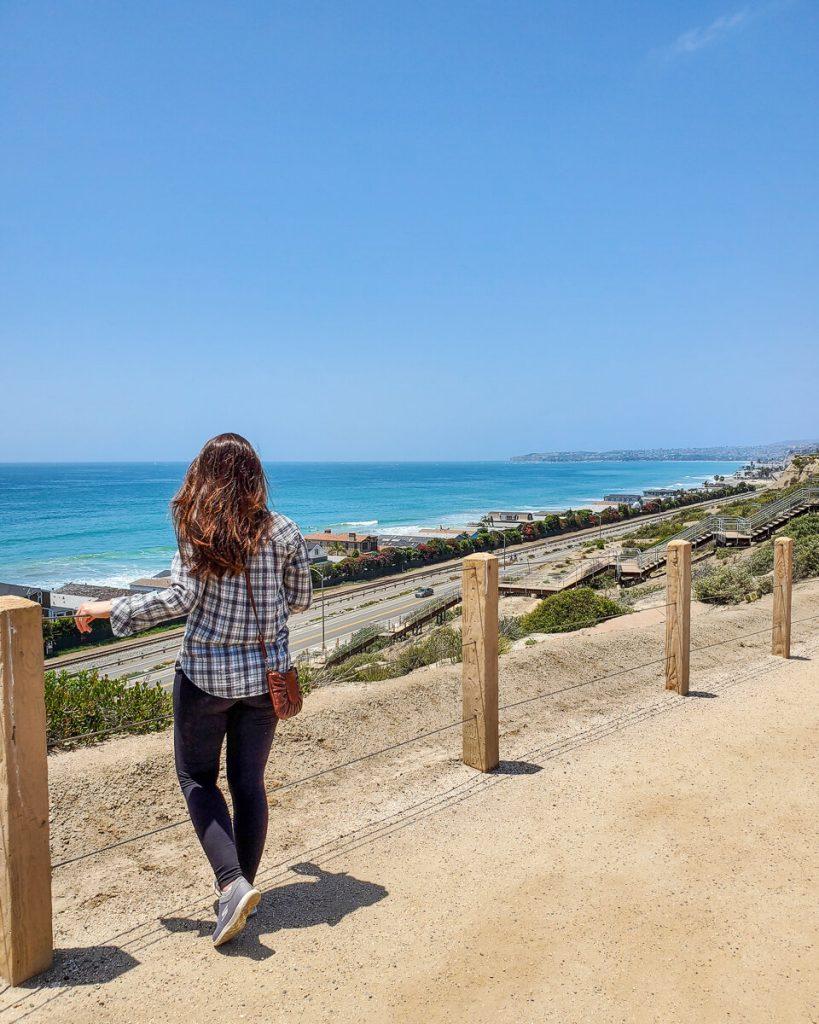 Sea Summit Trail ocean view hike in San Clemente