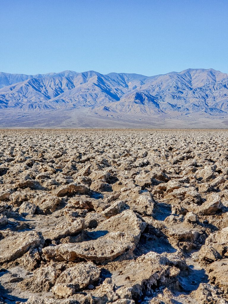 Devils Golf Course in Death Valley National Park