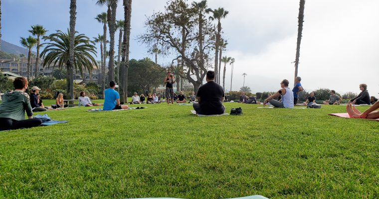 Outdoor Yoga Classes in Orange County